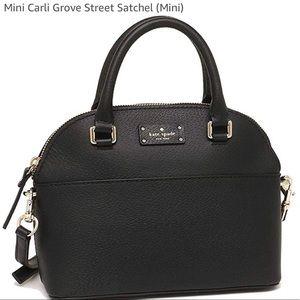 Kate Spade Mini Carli Grove Street Satchel- EUC
